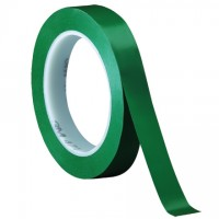 "3M 471 Green Vinyl Tape, 1/2"" x 36 yds., 5.2 Mil Thick"