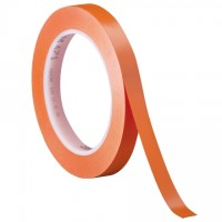 "3M 471 Orange Vinyl Tape, 1/4"" x 36 yds., 5.2 Mil Thick"