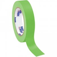"Light Green Masking Tape, 1"" x 60 yds., 4.9 Mil Thick"
