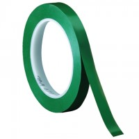 "3M 471 Green Vinyl Tape, 1/4"" x 36 yds., 5.2 Mil Thick"