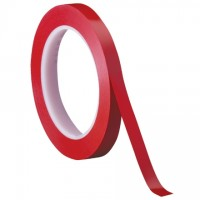 "3M 471 Red Vinyl Tape, 1/4"" x 36 yds., 5.2 Mil Thick"