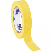"Yellow Masking Tape, 1"" x 60 yds., 4.9 Mil Thick"
