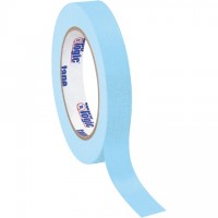 "Light Blue Masking Tape, 3/4"" x 60 yds., 4.9 Mil Thick"