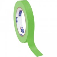 "Light Green Masking Tape, 3/4"" x 60 yds., 4.9 Mil Thick"