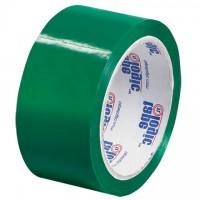 "Green Carton Sealing Tape, 2"" x 55 yds., 2.2 Mil Thick"