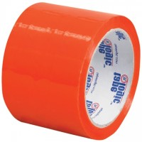"""Orange Carton Sealing Tape, 3"""" x 55 yds., 2.2 Mil Thick"""