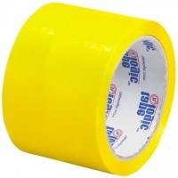 "Yellow Carton Sealing Tape, 3"" x 55 yds., 2.2 Mil Thick"