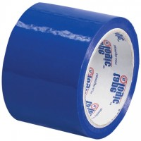 "Blue Carton Sealing Tape, 3"" x 55 yds., 2.2 Mil Thick"