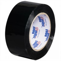 "Black Carton Sealing Tape, 2"" x 110 yds., 2.2 Mil Thick"
