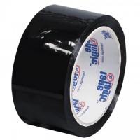 "Black Carton Sealing Tape, 2"" x 55 yds., 2.2 Mil Thick"