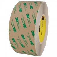 "3M 468MP High Performance Adhesive Transfer Tape, 3"" x 60 yds., 5 Mil Thick"
