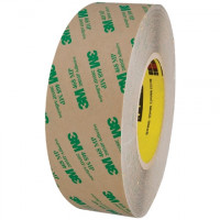 "3M 468MP High Performance Adhesive Transfer Tape, 2"" x 60 yds., 5 Mil Thick"