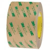 "3M 467MP High Performance Adhesive Transfer Tape, 3"" x 60 yds., 2 Mil Thick"
