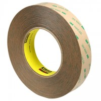 "3M 9472LE General Purpose Adhesive Transfer Tape, 1"" x 60 yds., 5 Mil Thick"