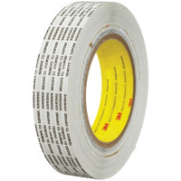 "3M 466XL General Purpose Adhesive Transfer Tape, 1"" x 1000 yds., 2 Mil Thick"