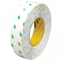 "3M 966 General Purpose Adhesive Transfer Tape, 1"" x 60 yds., 2 Mil Thick"