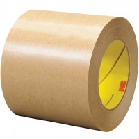 "3M 465 General Purpose Adhesive Transfer Tape, 4"" x 60 yds., 2 Mil Thick"