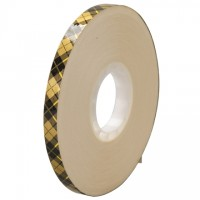 "3M 908 Adhesive Transfer Tape, 1/4"" x 36 yds., 2 Mil Thick"