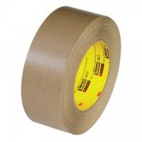 "3M 2517 Kraft Flatback Masking Tape, 2"" x 60 yds., 6.5 Mil Thick"