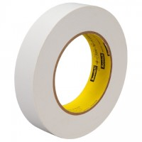 "3M 256 White Flatback Masking Tape, 2"" x 60 yds., 6.7 Mil Thick"