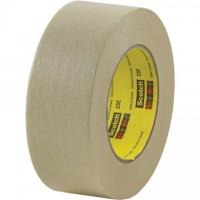 "3M 232 Masking Tape, 1/2"" x 60 yds., 6.3 Mil Thick"