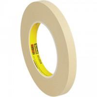 "3M 231 Masking Tape, 1/2"" x 60 yds., 7.6 Mil Thick"