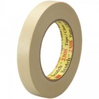 "3M 2308 Masking Tape, 3/4"" x 60 yds., 5.5 Mil Thick"