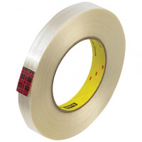 "3M 890MSR Strapping Tape, 3/4"" x 60 yds., 8.0 Mil Thick"