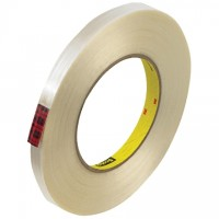 "3M 890MSR Strapping Tape, 1/2"" x 60 yds., 8.0 Mil Thick"