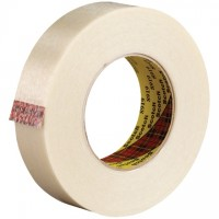 "3M 8919 Strapping Tape, 1"" x 60 yds., 7.0 Mil Thick"