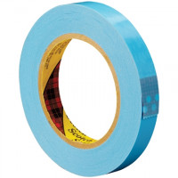 "3M 8896 Blue Strapping Tape, 3/4"" x 60 yds., 4.6 Mil Thick"