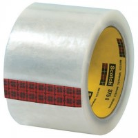 "3M 375 Tape, Clear, 3"" x 55 yds., 3.1 Mil Thick"