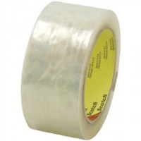 "3M 3723 Tape, Clear, 2"" x 55 yds., 3 Mil Thick"