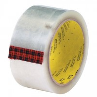 "3M 372 Tape, Clear, 2"" x 110 yds., 2.2 Mil Thick"