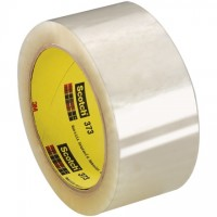 "3M 373 Tape, Clear, 2"" x 55 yds., 2.5 Mil Thick"