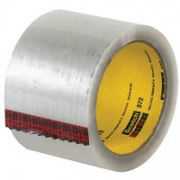 "3M 372 Tape, Clear, 3"" x 55 yds., 2.2 Mil Thick"
