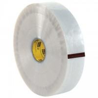 """Clear Machine Carton Sealing Tape, 3M 355, 3"""" x 1000 yds., 3.5 Mil Thick"""