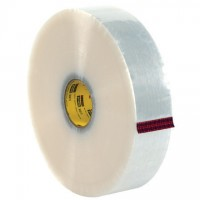 """Clear Machine Carton Sealing Tape, 3M 375, 3"""" x 1000 yds., 3 Mil Thick"""