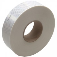 "3M 983 White Reflective Tape, 2"" x 150'"