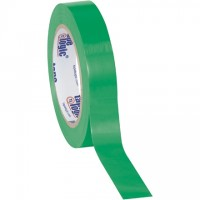 "Green Vinyl Tape, 1"" x 36 yds., 6 Mil Thick"