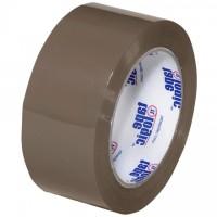 "Tan Carton Sealing Tape, Economy, 2"" x 110 yds., 1.9 Mil Thick"