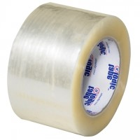 "Clear Carton Sealing Tape, Economy, 3"" x 110 yds., 2.5 Mil Thick"