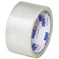 "Clear Carton Sealing Tape, Economy, 2"" x 55 yds., 1.6 Mil Thick"