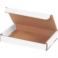 Indestructo Mailers, White, 7 x 5 x 1""