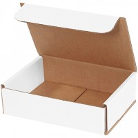 Indestructo Mailers, White, 7 x 6 x 2""