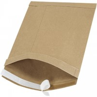 "Padded Mailers, #3, 8 1/2 x 14 1/2"", Kraft, Self-Seal"