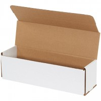 Indestructo Mailers, White, 14 x 4 x 4""
