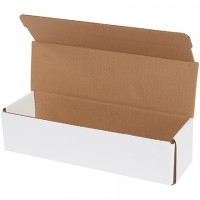 Indestructo Mailers, White, 12 x 3 1/2 x 3""