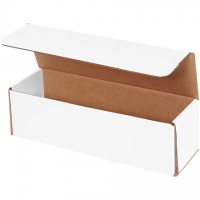 Indestructo Mailers, White, 11 1/2 x 3 1/2 x 3 1/2""