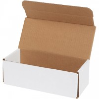 Indestructo Mailers, White, 9 x 4 x 3""